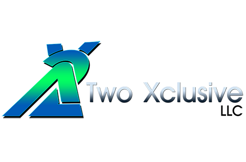 Two-Xclusive-LLC-logo design by Quick logo